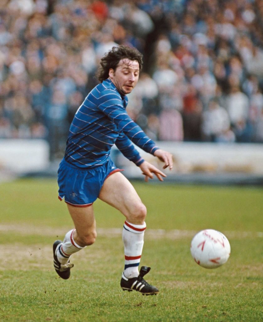 Ein quirliger, kleiner Stürmer - Mickey Thomas. Foto: Getty Images