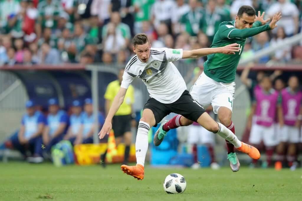 Rafael Marquez im WM-Spiel gegen Deutschland im Sommer 2018 (Photo by Alexander Hassenstein/Getty Images)
