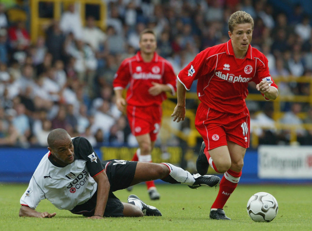 Juninho Paulista ging als eines der größten brasilianischen Talente zum FC Middlesbrough. Foto: Getty Images