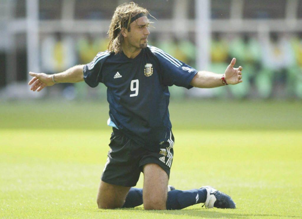 Deutlich erfolgreicher war Batistuta zuvor beim AC Florenz gewesen. Foto: Getty Images