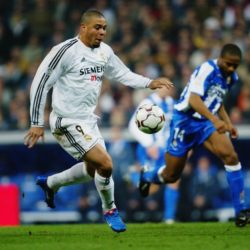 Für Ronaldo zahlte Real Madrid im Jahr 2002 45 Millionen Euro. Foto: Getty Images