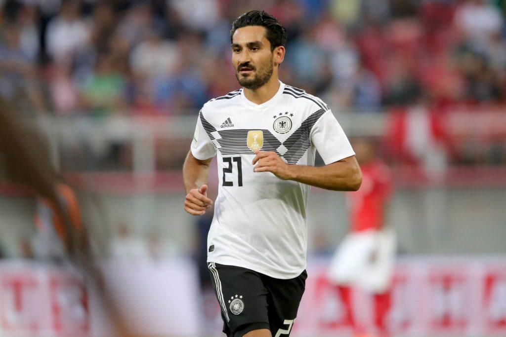 Ilkay Gündogan im Dress der Nationalmannschaft. Foto: Getty Images
