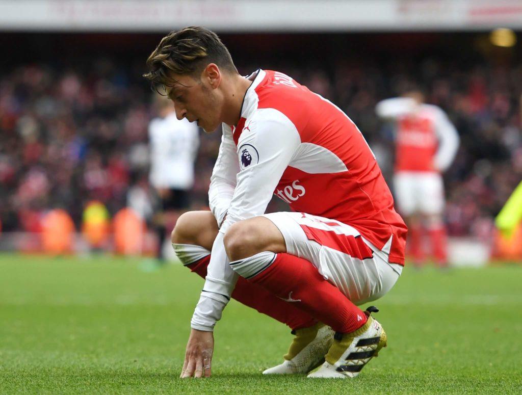 Mesut Özil. Foto: Getty Images
