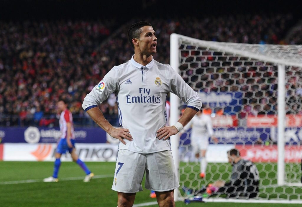 CR7 sieht das eindeutig. (Photo by Denis Doyle/Getty Images)