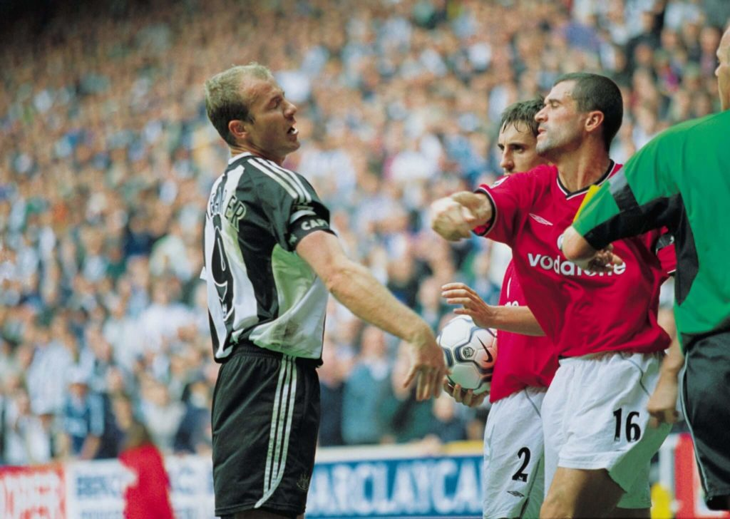 Roy Keane legte sich mit so ziemlich jedem mal an. Foto: Getty Images