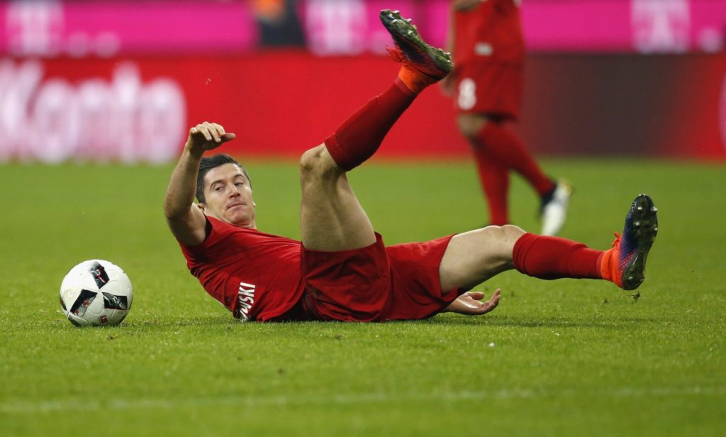 Lewandowski im Tief 2018. (Photo by Boris Streubel/Getty Images)