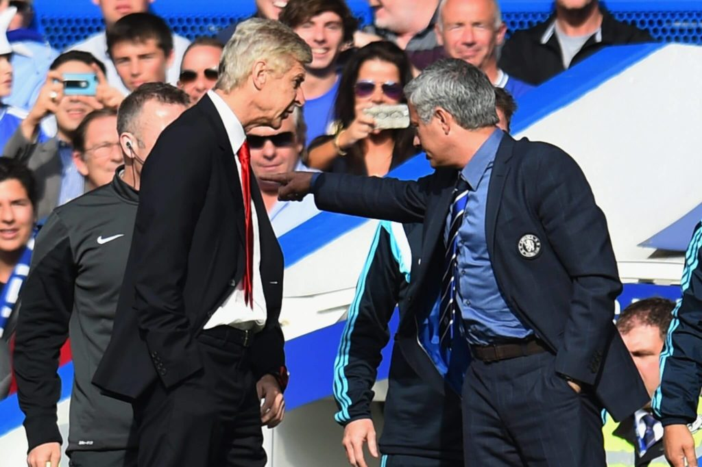 Ziemlich beste Feinde - Arsene Wenger und Jose Mourinho (Photo by Shaun Botterill/Getty Images)