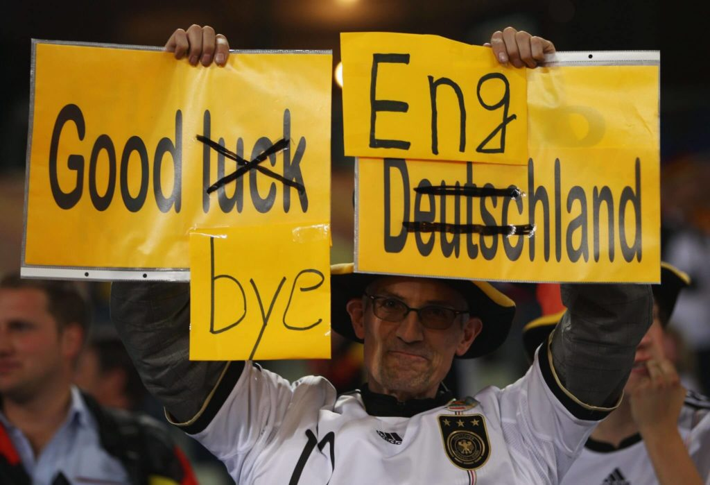 Good bye England; Foto: Getty Images