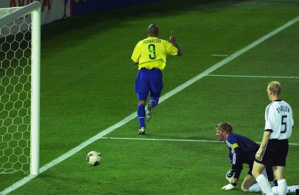 Der Höhepunkt in der Karriere von Ronaldo - WM 2002. Foto: Getty Images