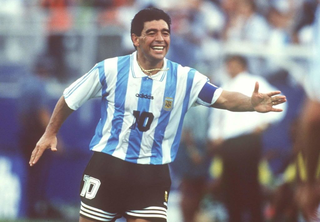 Mardaona spielte richtig gut bei der WM 1994; Foto: Getty Images