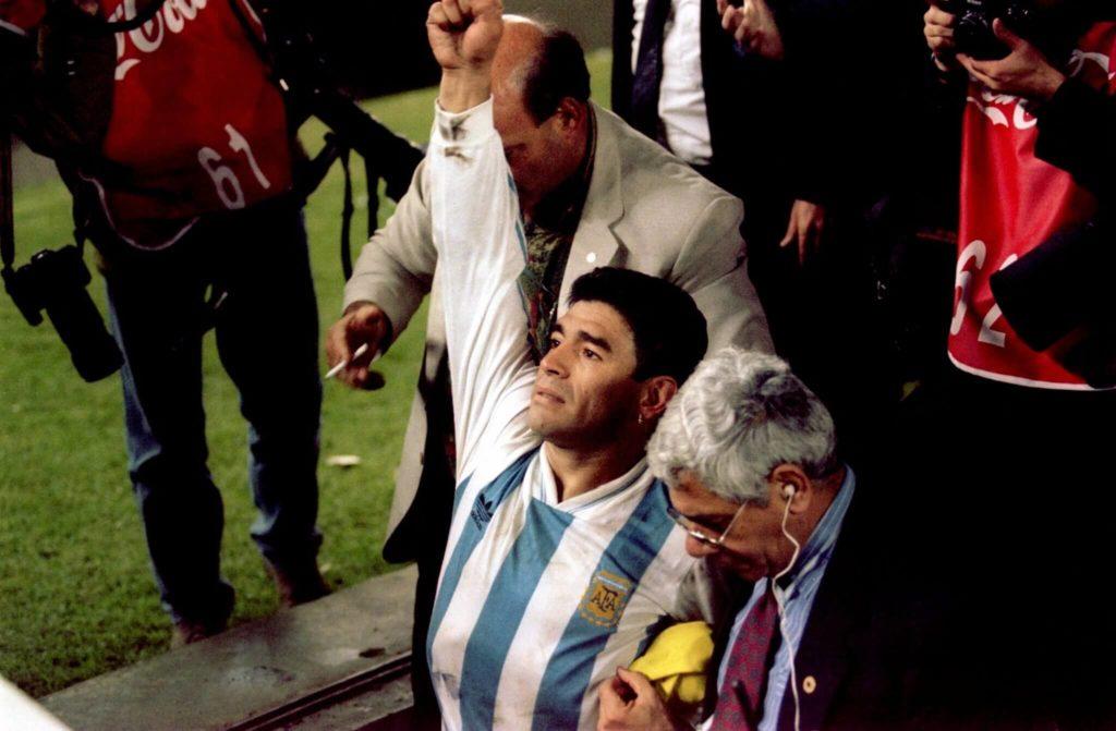 Ein unrühmliches Ende für Maradona; Foto: Getty Images