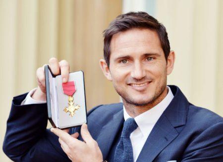 Frank Lampard hatte aufgrund seines familiären Hintergrunds einen guten Start ins Leben. Foto: Getty Images