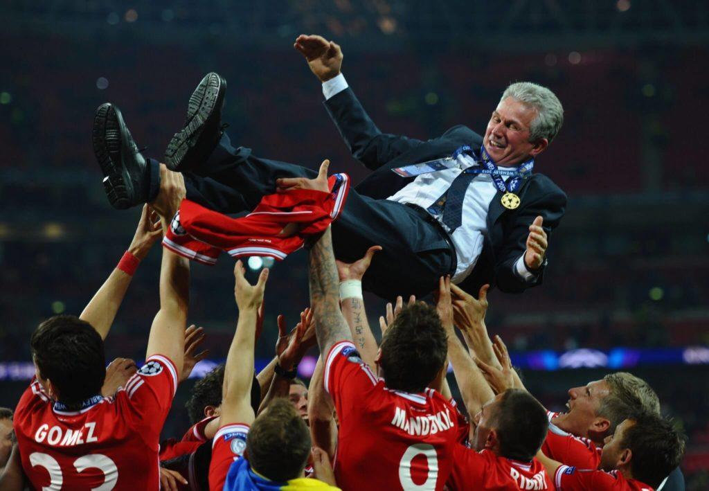 Jupp Heynckes wird gefeiert. Foto: Getty Images