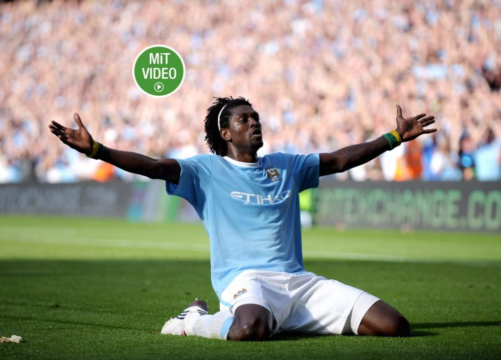 Emmanuel Adebayor spielte bei einigen Top-Clubs. Foto: Getty Images