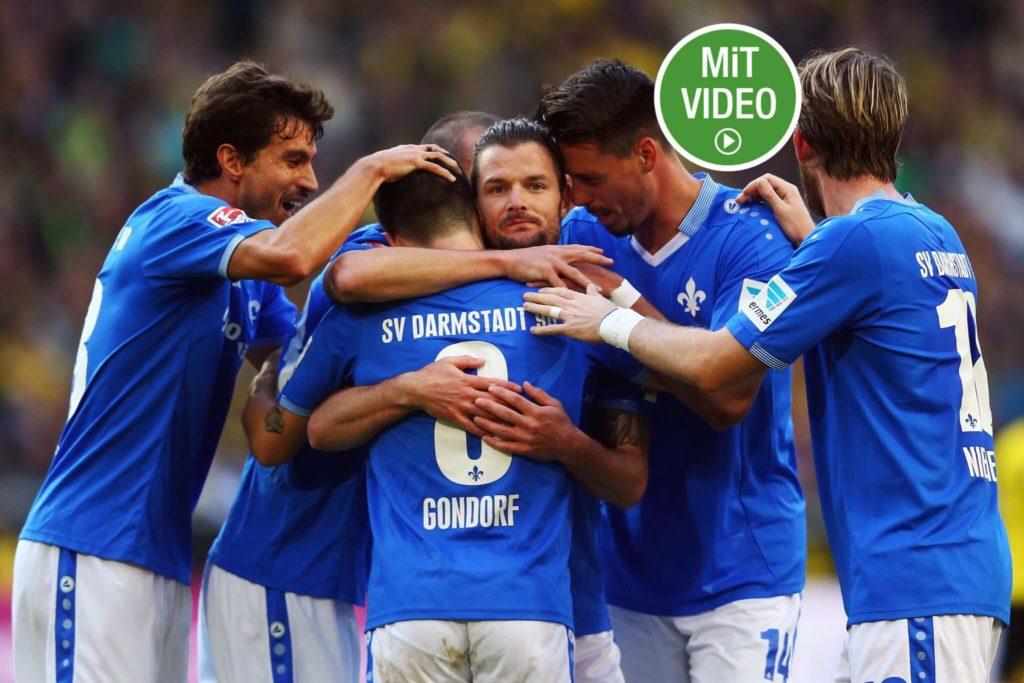 SV Darmstadt 98 – der Aufstieg des gefühlten Drittligisten ging zu schnell. Foto: Getty Images