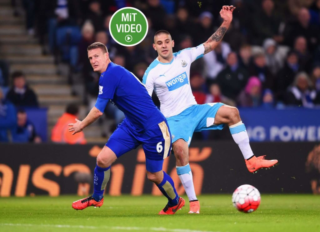 Robert Huth legte mit Leicester City einen brillanten Neustart hin. Foto: Getty Images