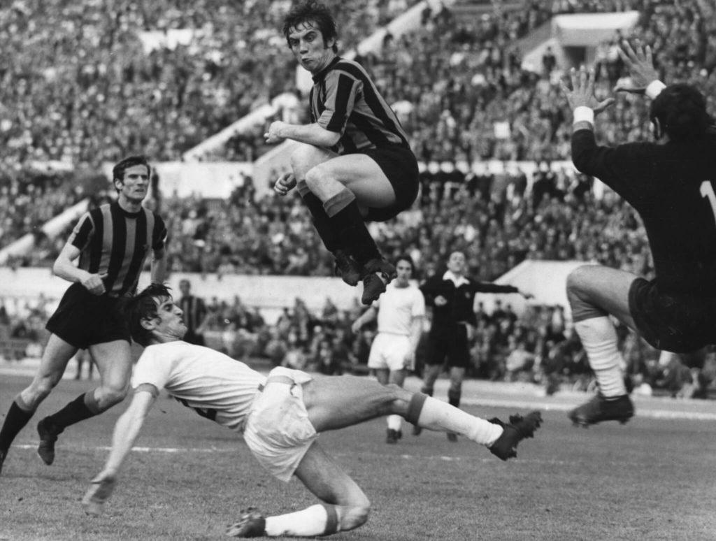 Facchetti spielte in seiner Karriere nur für Inter. Foto: Getty Images