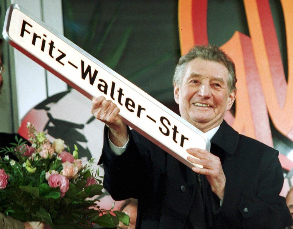 Einer der besten deutschen Spieler aller Zeiten: Fritz Walter. Foto: Getty Images