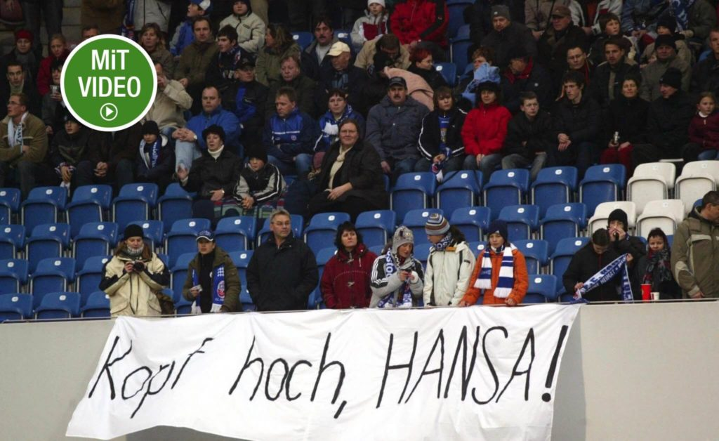 Hansa Rostock 2004/2005 – Die Heimdeppen (Photo by Lutz Bongarts/Bongarts/Getty Images)