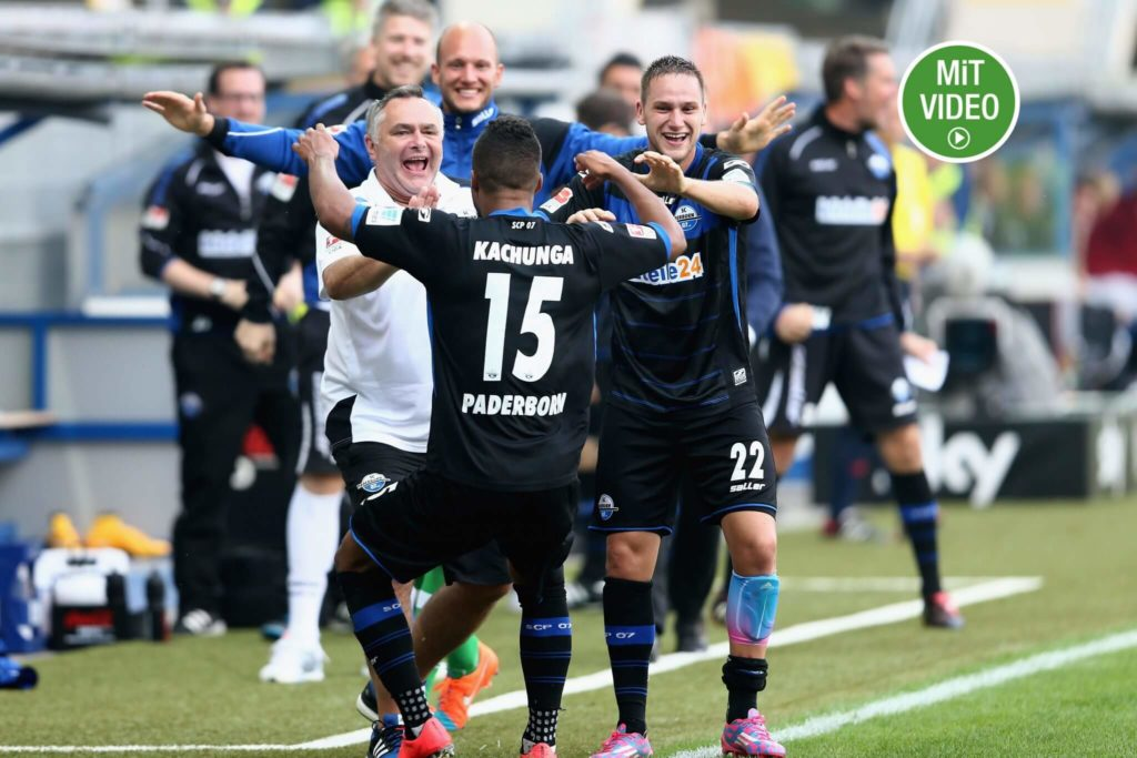SC Paderborn 2014/2015 – Von ganz oben nach ganz unten (Photo by Christof Koepsel/Bongarts/Getty Images)