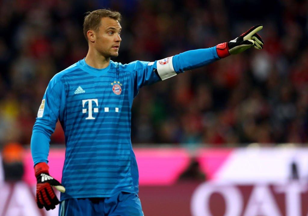 Neuer Bayern Spieler
