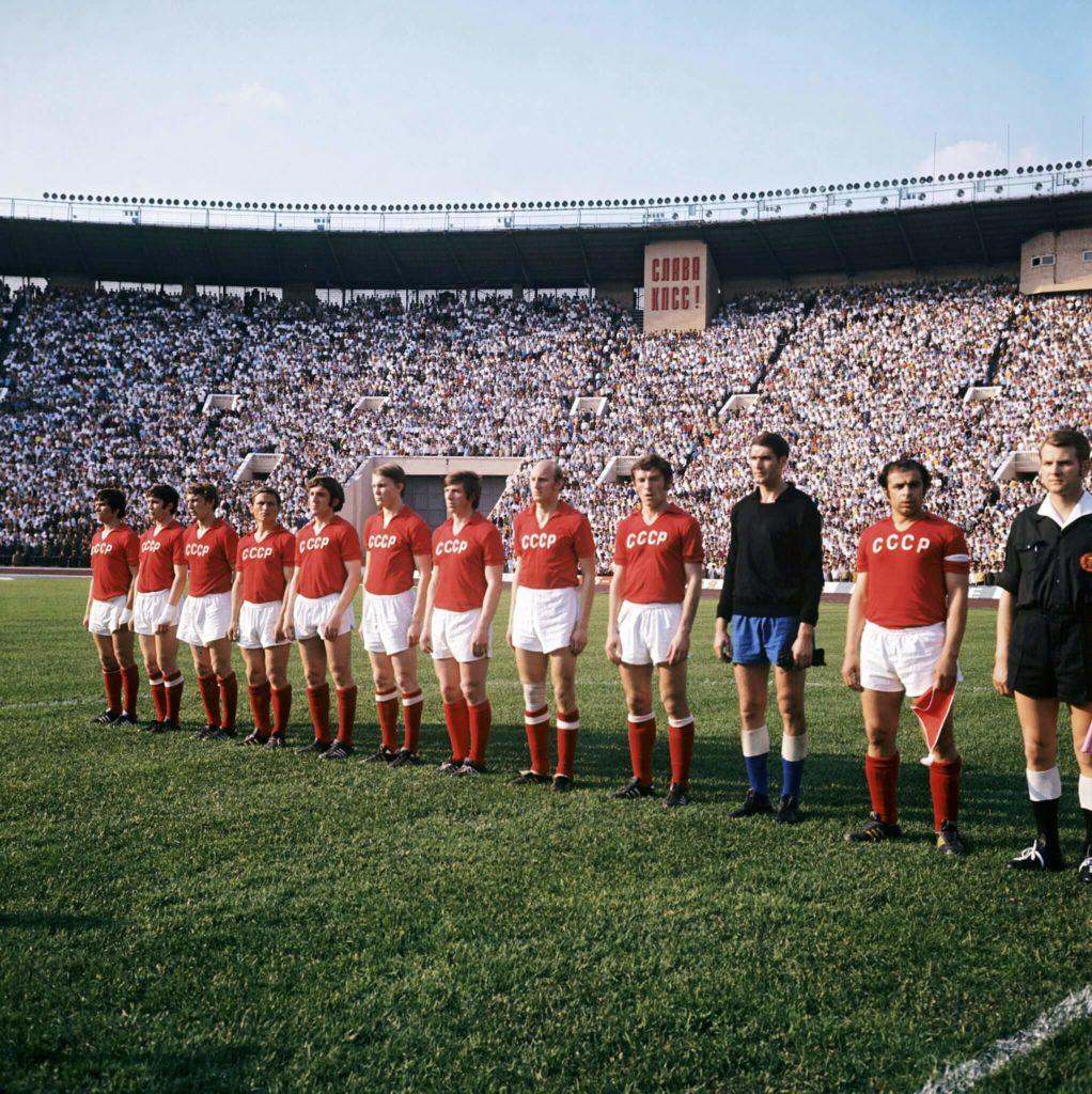 Das Team der UDSSR. Foto: Imago