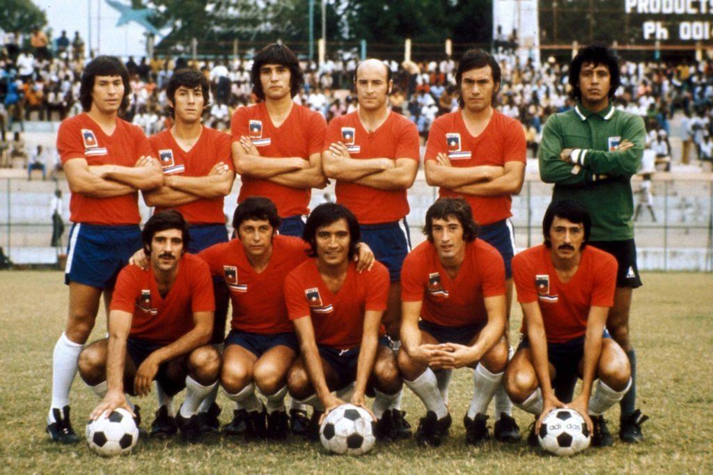 Die Mannschaft Chiles. Foto - Imago
