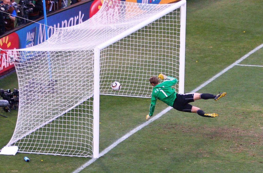 Ein eindeutiges Tor für England; Foto: Getty Images