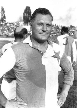 Josef Bican nach Ende seiner Fußballerkarriere.