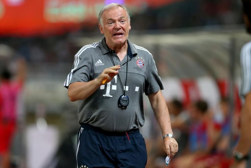 Hermann Gerland ist seit Jahren fester Bestandteil des erfolgreichen Bayern-Ensembles. Foto: Getty Images