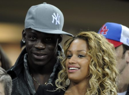 Mario Balotelli und Fanny Neguesha. Foto: Getty Images