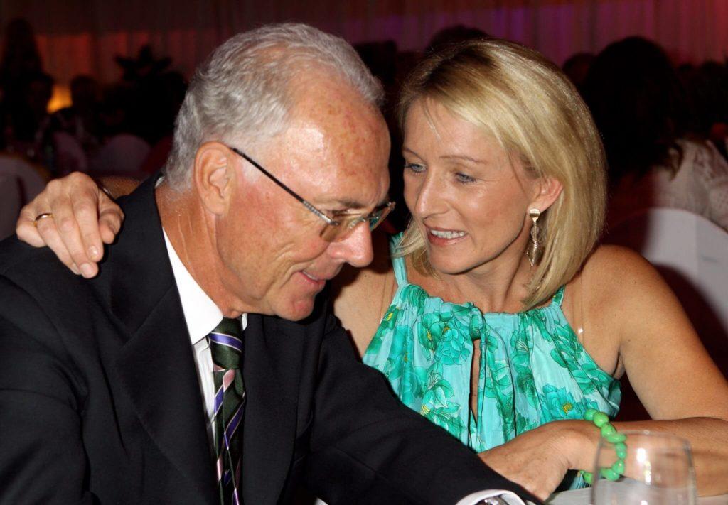Franz Beckenbauer und Frau Heidi. Foto: Getty Images