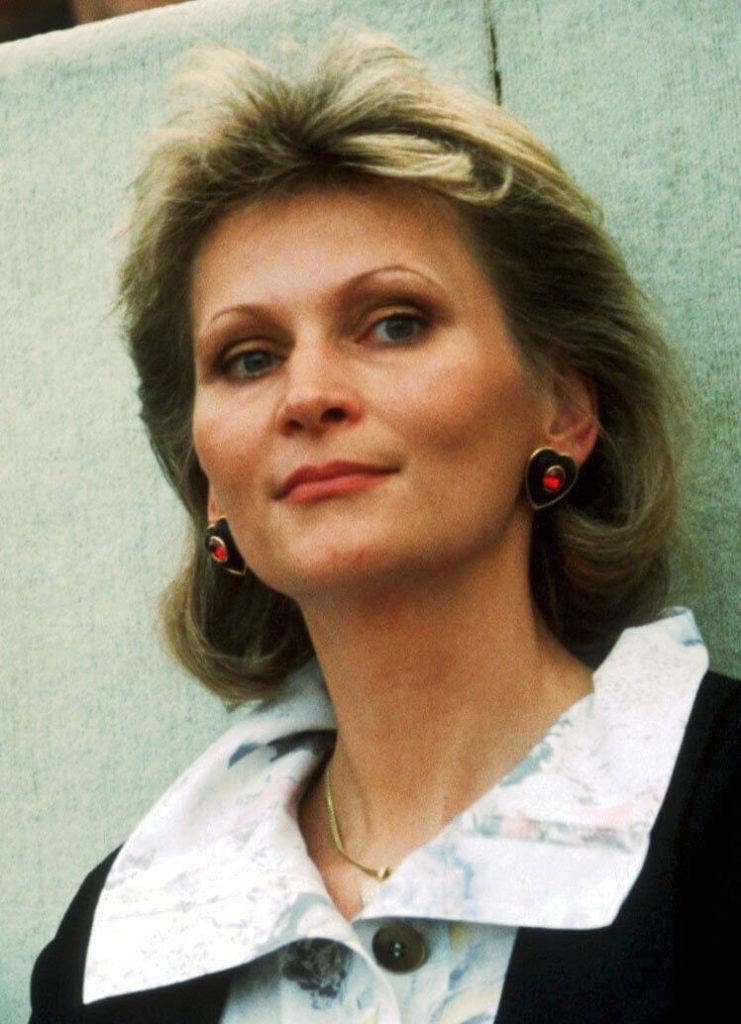 Diane Sandmann, ehemalige Lebensgefährtin von Franz Beckenbauer. Foto: Getty Images