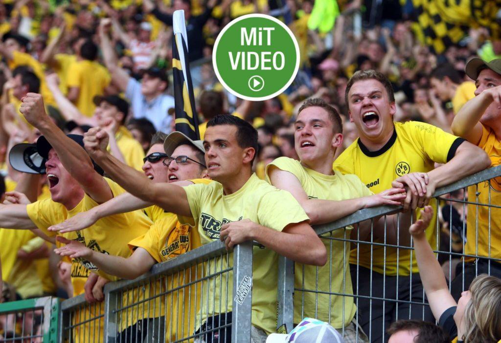 Fanfeindschaften in der Bundesliga. Foto: Getty Images