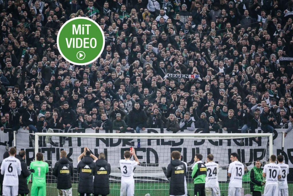 """Borussia Mönchengladbach: Die """"Buuren"""" und der 1. FC Köln. Foto: Getty Images"""
