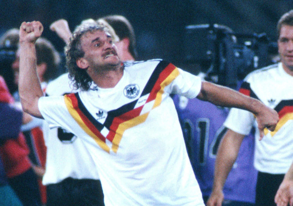 Rudi Völler ist ein deutsches Fußball-Idol. Foto: Getty Images