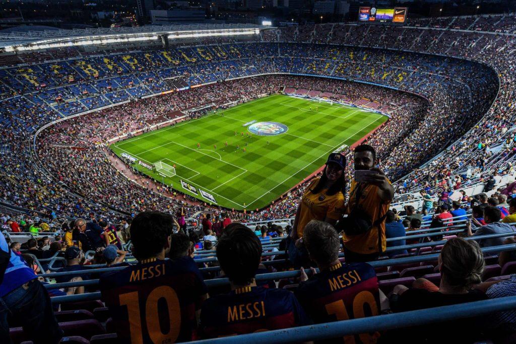 Camp Nou - das größte Stadion in Europa.