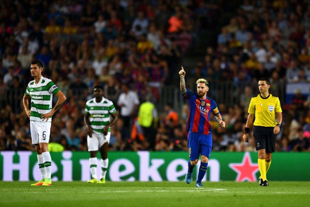 Messi, der Gigant.