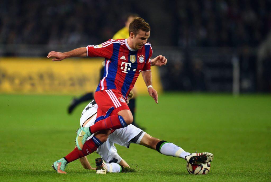 Bei den Bayern flitzte er sowohl über die beiden Flügel oder spielte auch im Sturmzentrum als sogenannte falsche Neun. Foto: Getty Images