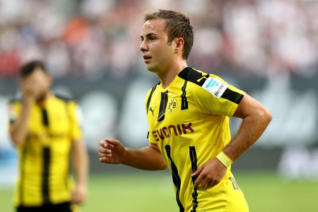 In Dortmund spielt Götze nun im zentralen Mittelfeld und auf den Außenpositionen in der Offensive. Foto: Getty Images