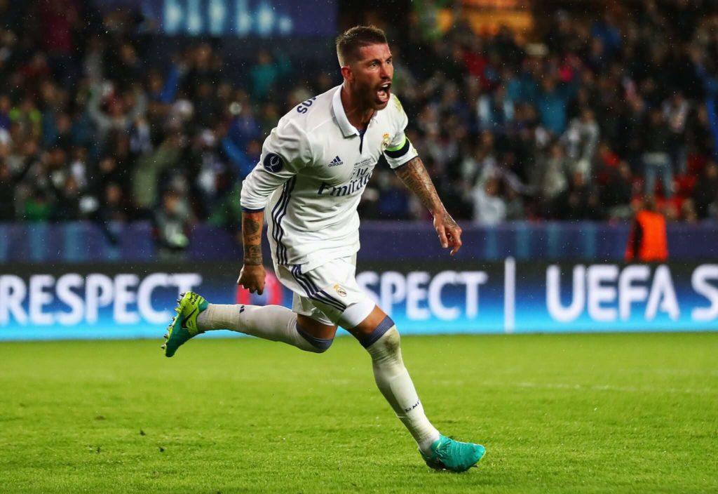 Sergio Ramos begann seine Profi-Karriere beim FC Sevilla als rechter Außenverteidiger. Foto: Getty Images
