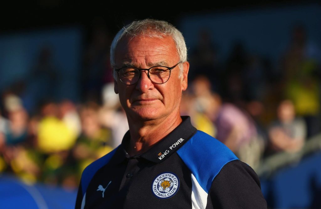 OXFORD, ENGLAND - JULY 19: Leicester City's manager Claudio Ranieri looks on prior to the pre-season friendly between Oxford City and Leicester City at Kassam Stadium on July 19, 2016 in Oxford, England. (Photo by Steve Bardens/Getty Images)