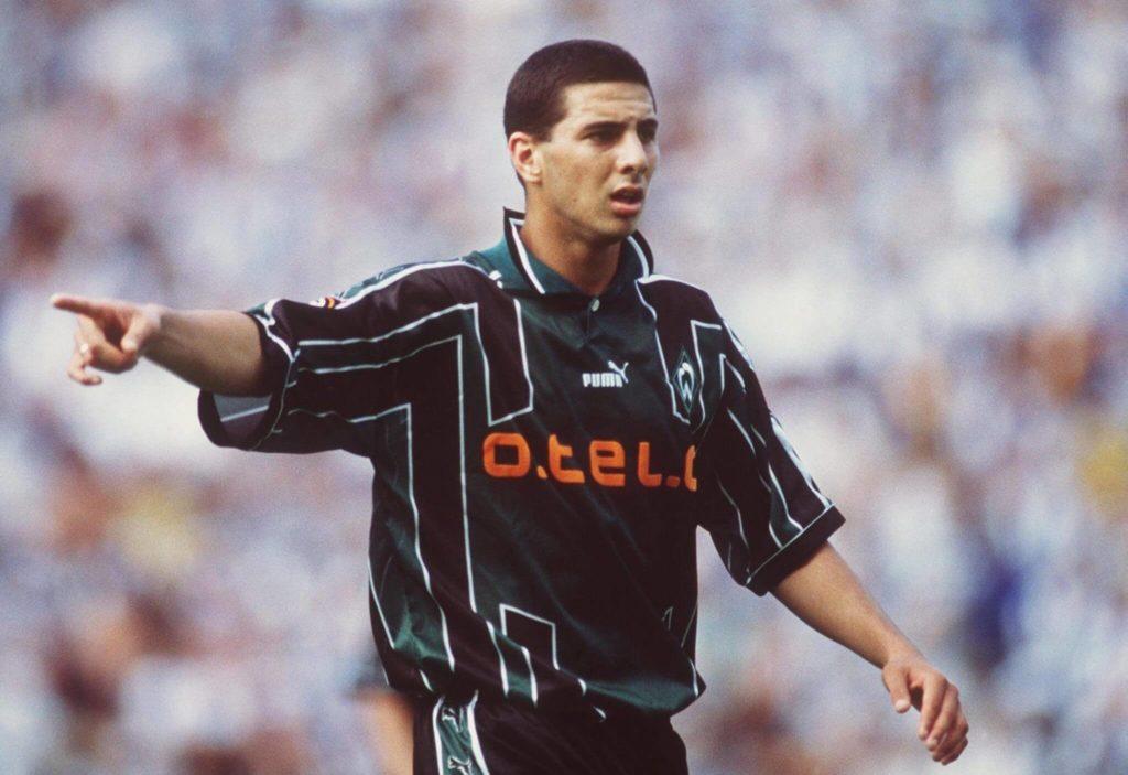 Der junge Pizarro in Bremen. Foto: Getty Images