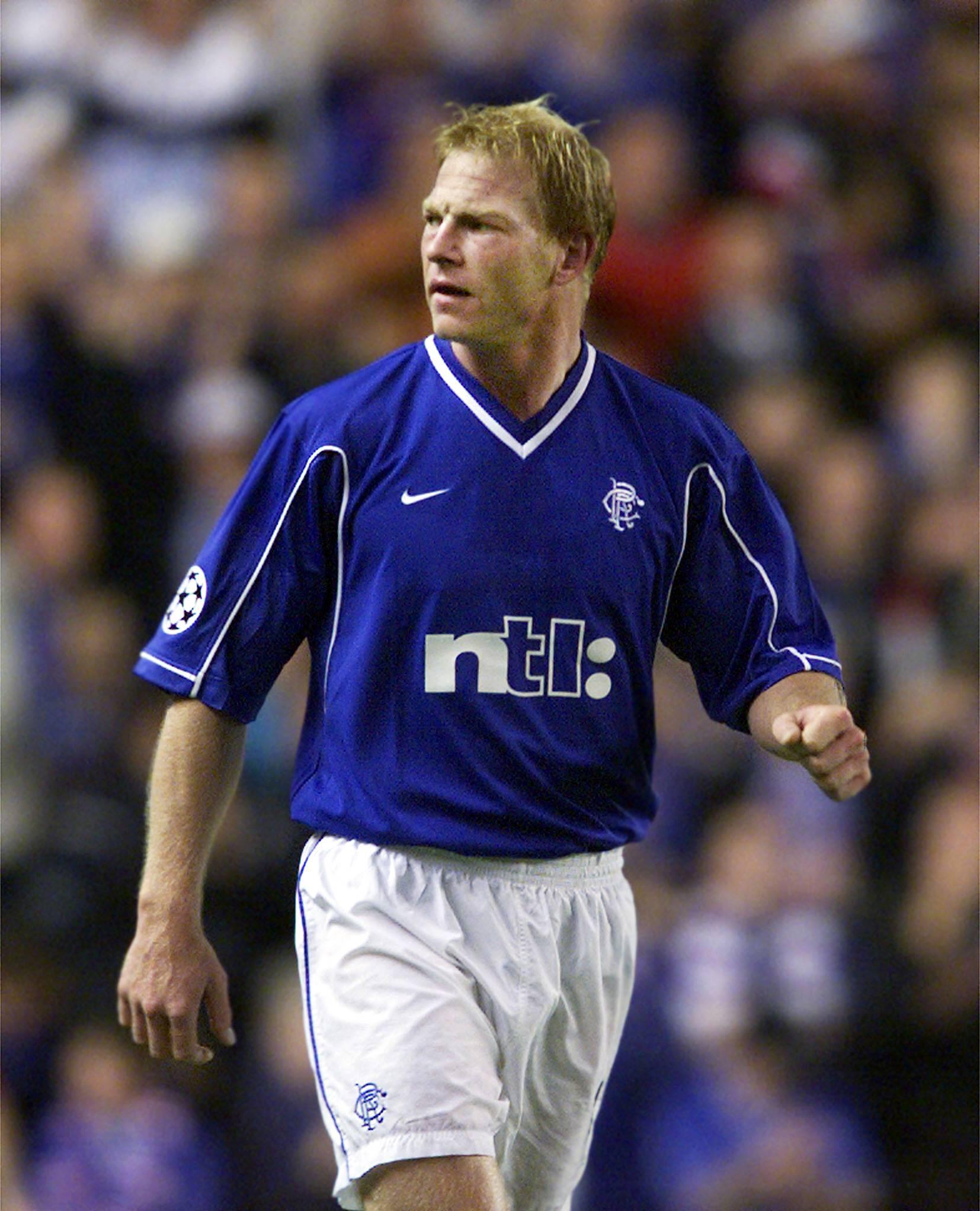 Jörg Albertz für Glasgow Rangers.