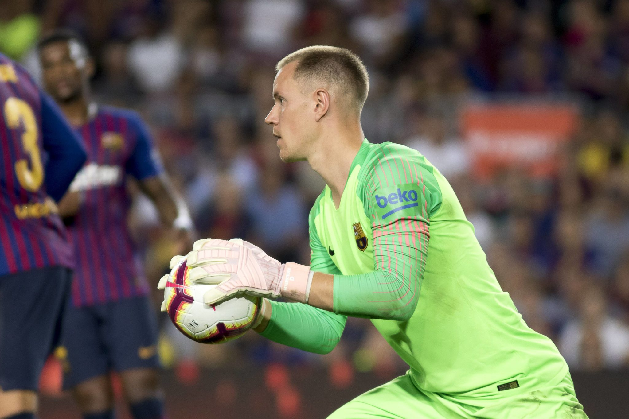 Champions-League Sieger mit dem FC Barcelona - Marc-André ter Stegen.