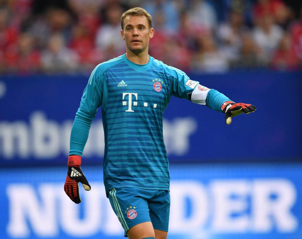 Manuel Neuer hat beim FC Bayern noch einen Vertrag bis 2021.