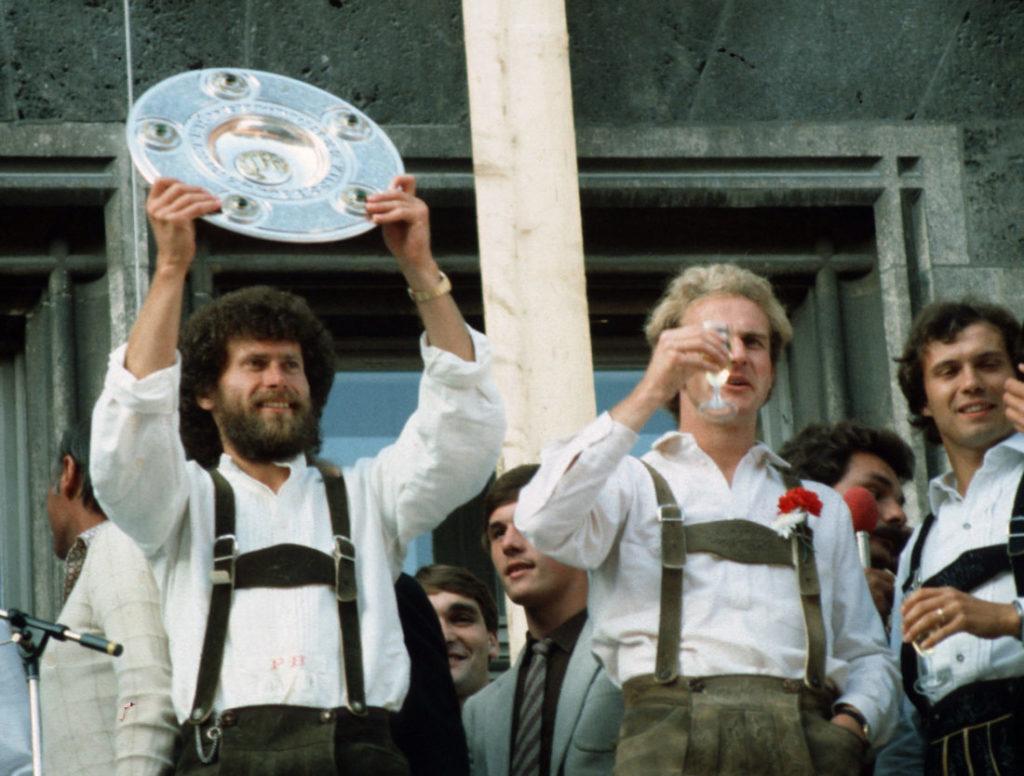 Die Bayern-Granden der späten 70er und frühen 80er Jahre.