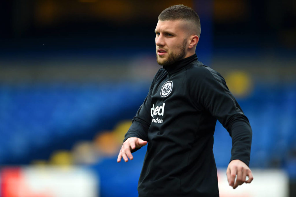 Ante Rebic vor dem Europa-League-Halbfinale 2019 beim FC Chelsea.