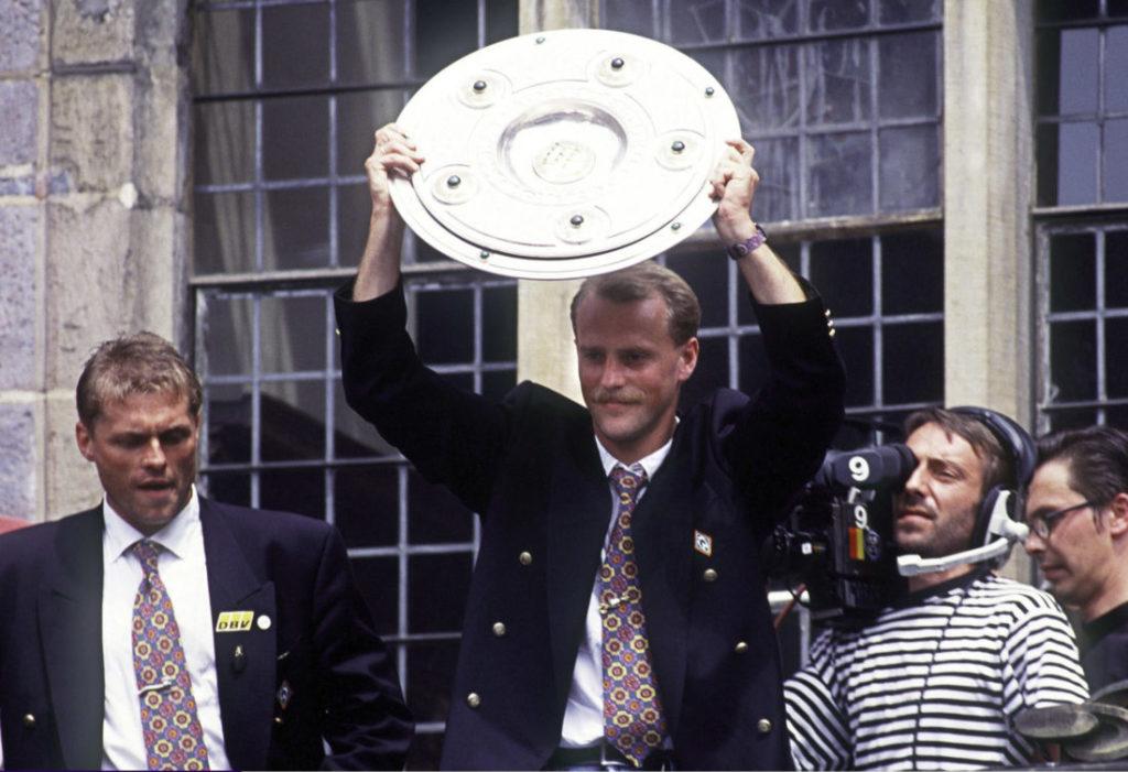 BREMEN, GERMANY - JUNE 06: 1. Bundesliga 92/93, Bremen; SV Werder Bremen - Deutscher Meister 1993;