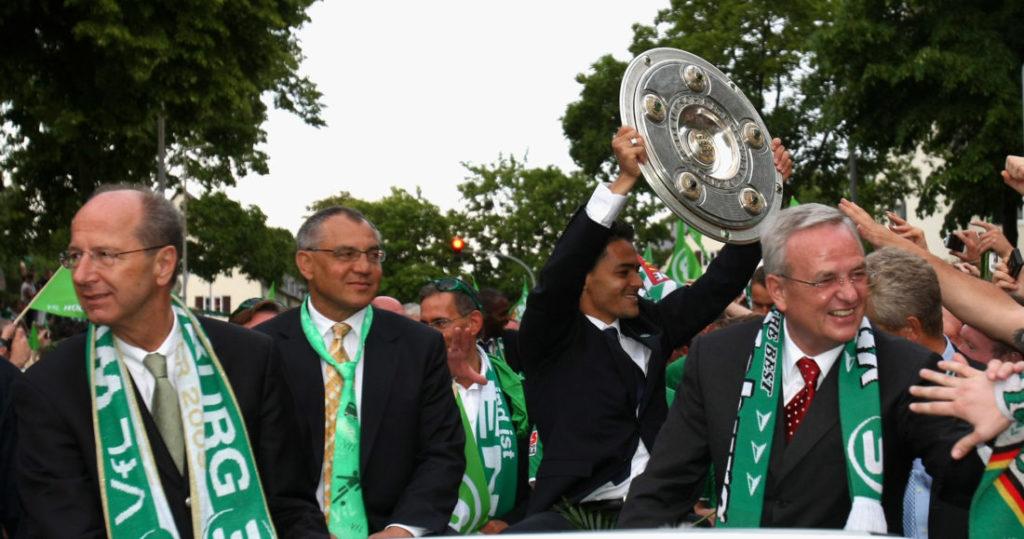 23. Mai 2009 - Wolfsburg ist deutscher Fußballmeister.